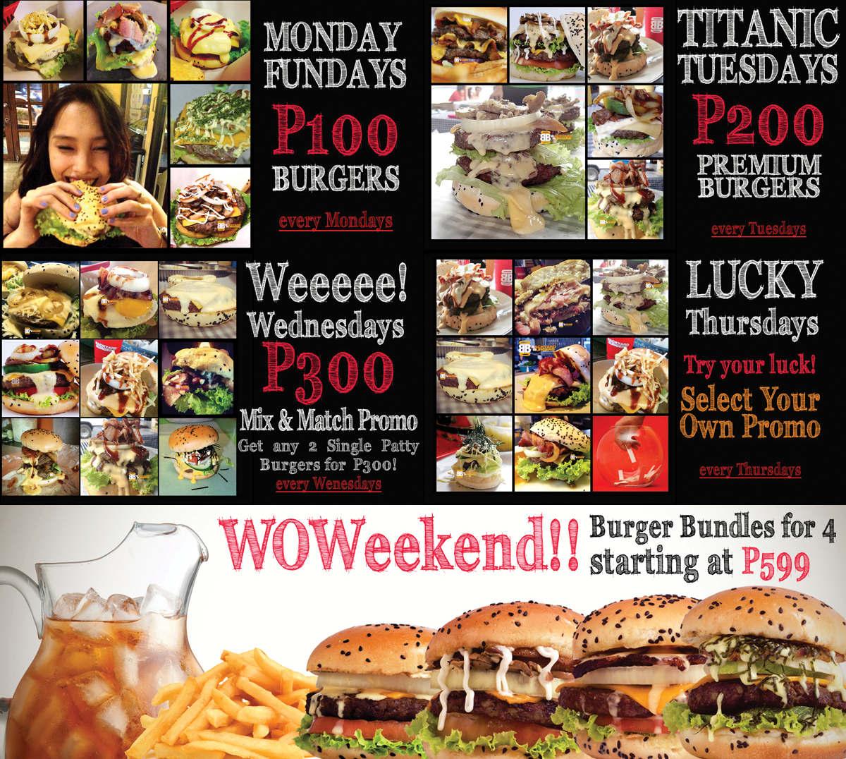Backyard Burgers Menu Backyard Burgers March Madness Davao Burgers At  Backyard . Backyard Burgers Menu ...