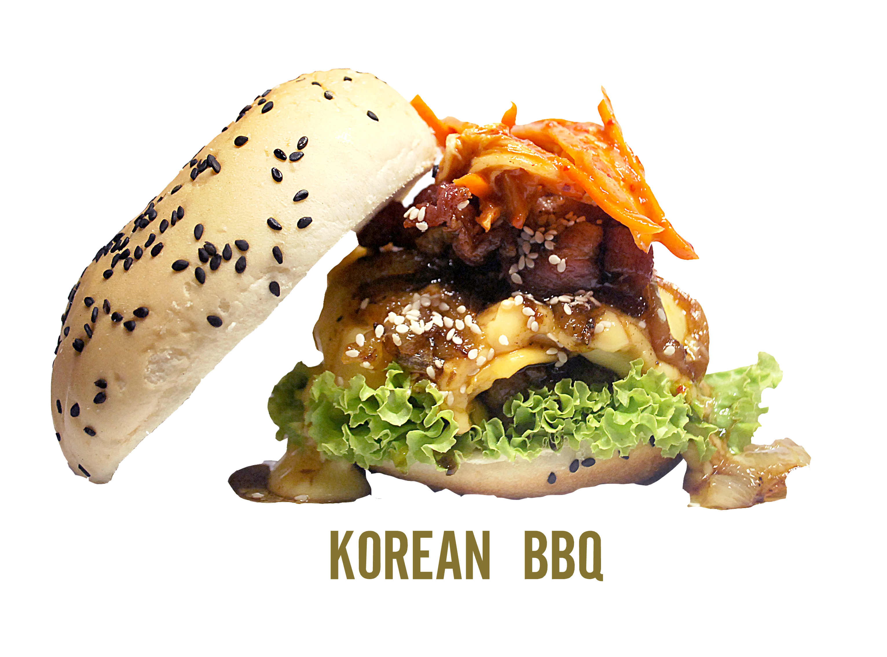 Superieur BB Korean Barbecue Burger
